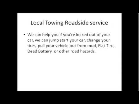 24 hours Tow Truck Roadside Assistance in Orlando Florida