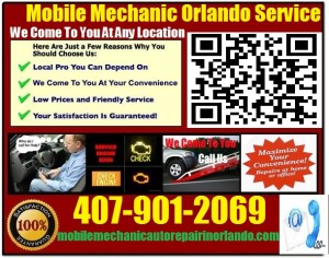 Mobile Mechanic Oviedo Florida auto car repair service