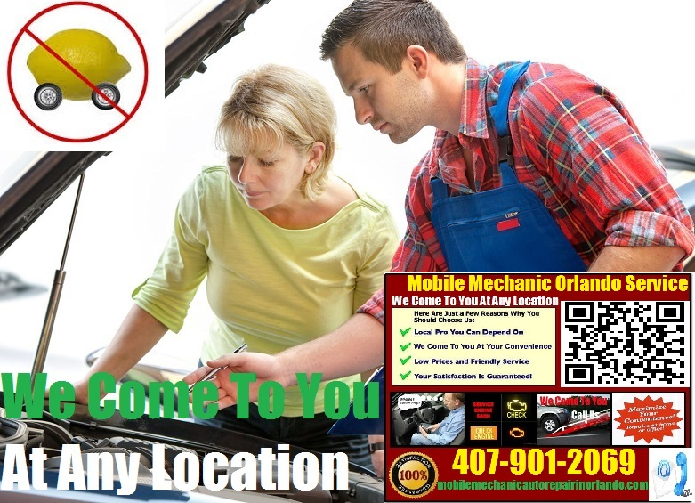 Pre Purchase Car Inspection Orlando, FL Mobile Auto Mechanic Service